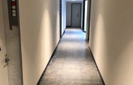 Carpet Tiles & Ally Skirt